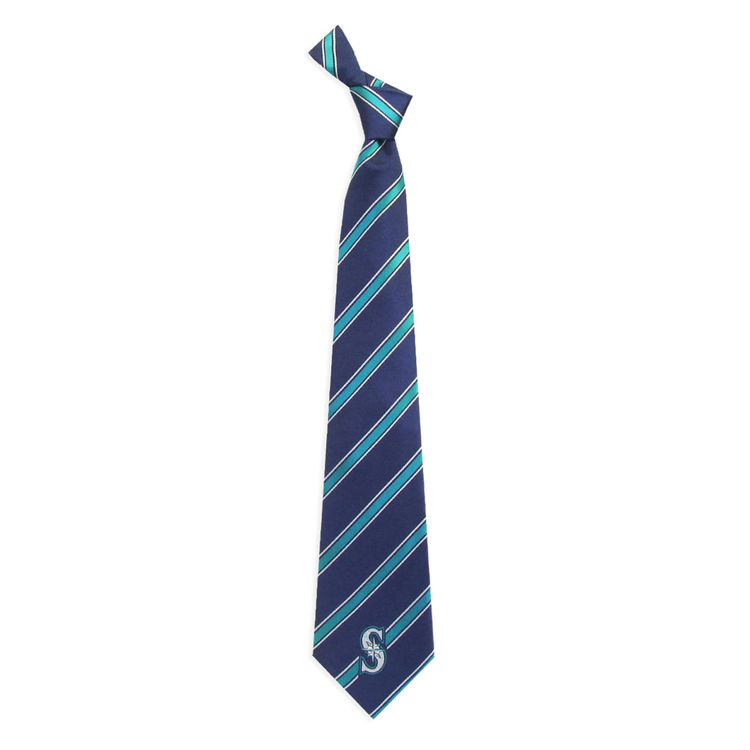 Seattle Mariners Tie Woven Poly 1