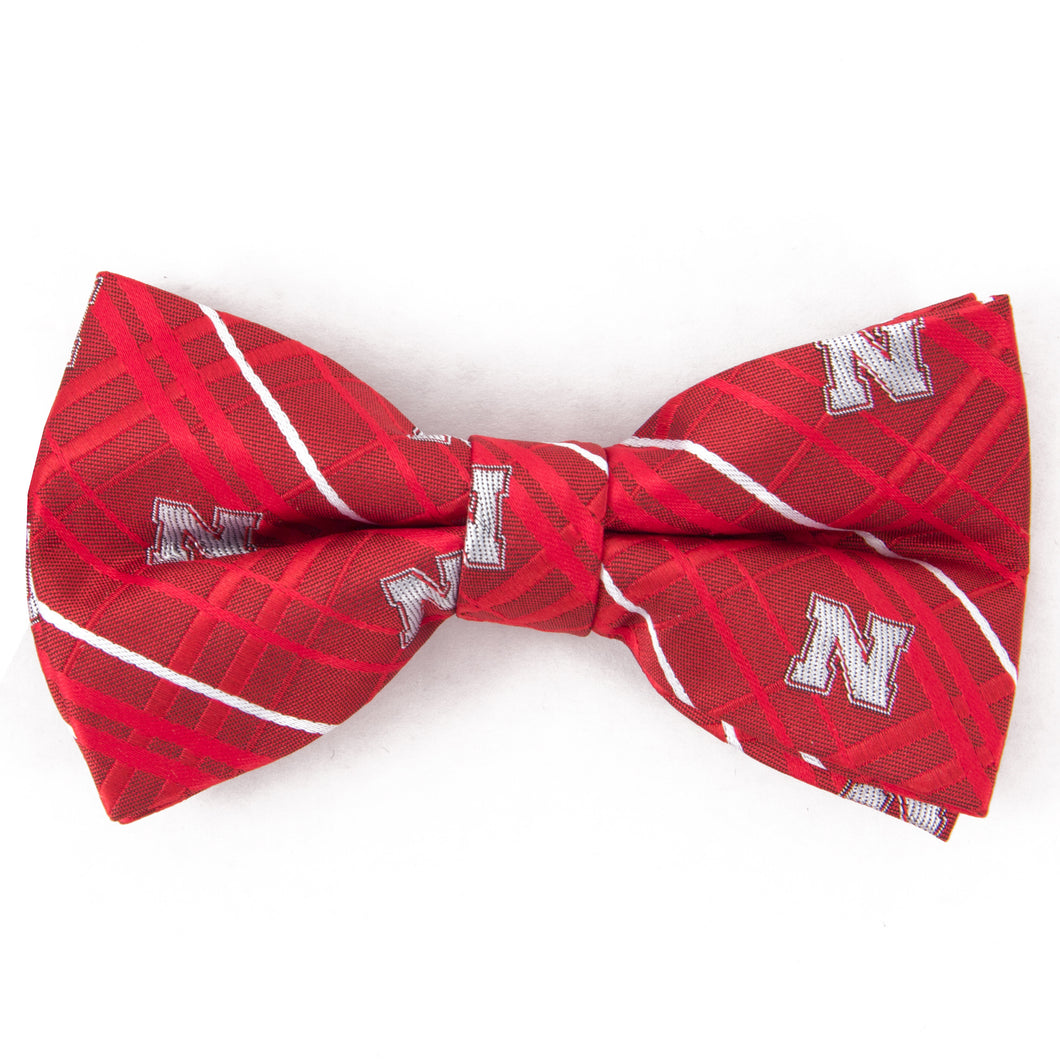 Nebraska Bow Tie Oxford