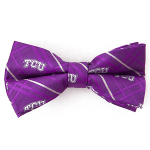 TCU Horned Frogs Bow Tie Oxford