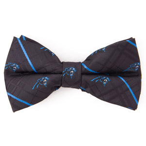 Carolina Panthers Bow Tie Oxford