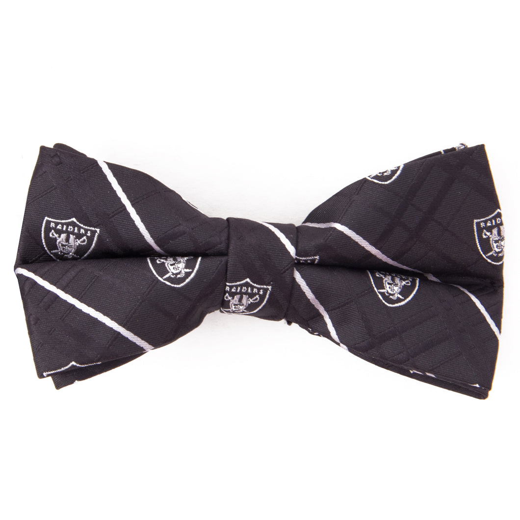 Oakland Raiders Bow Tie Oxford
