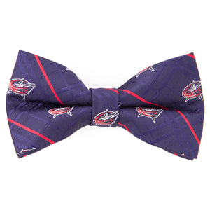 Blue Jackets Bow Tie Oxford
