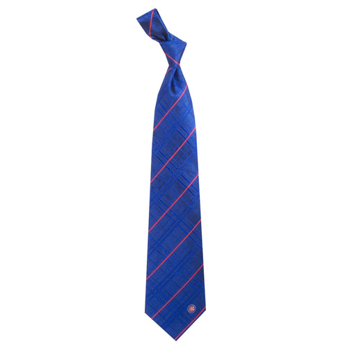Chicago Cubs Tie Oxford Woven