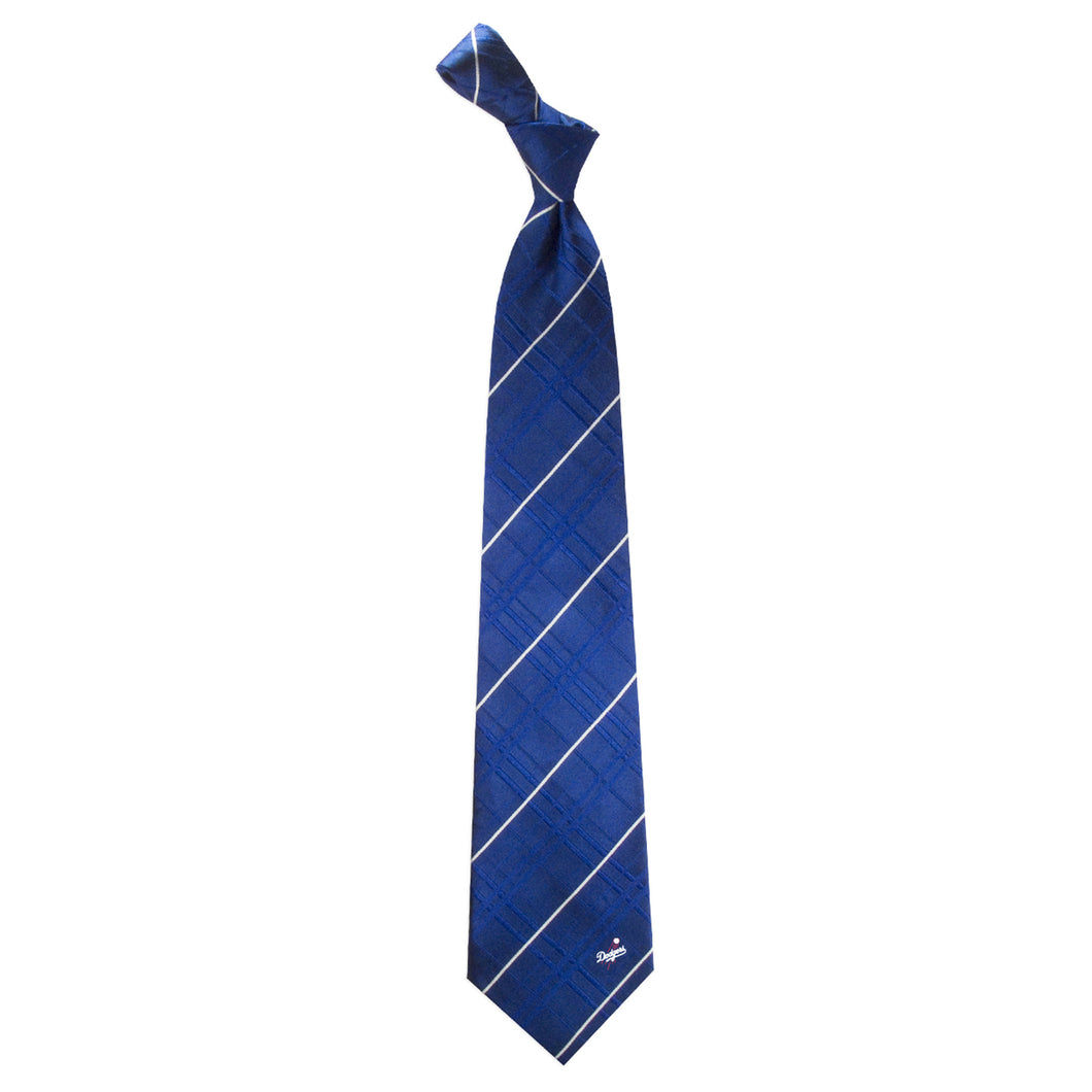 Los Angeles Dodgers Tie Oxford Woven