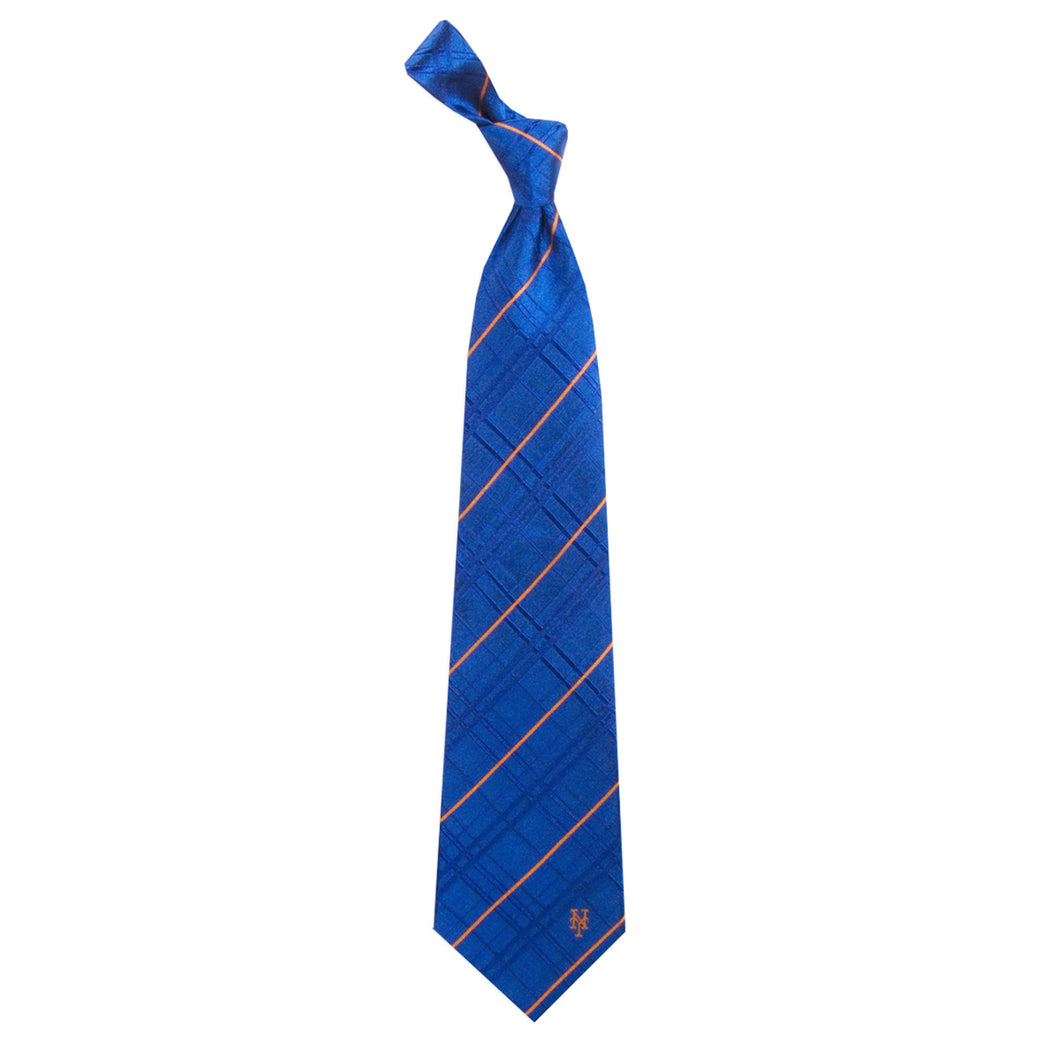 New York Mets Tie Oxford Woven