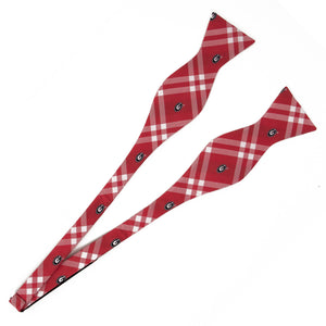 Georgia Bulldogs Self Tie Bow Tie Rhodes