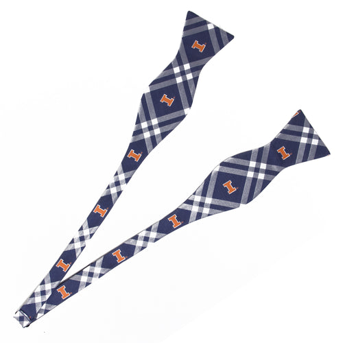 Illinois Self Tie Bow Tie Rhodes