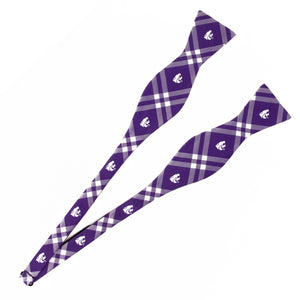 Kansas State Wildcats Self Tie Bow Tie Rhodes