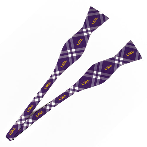 LSU Tigers Self Tie Bow Tie Rhodes