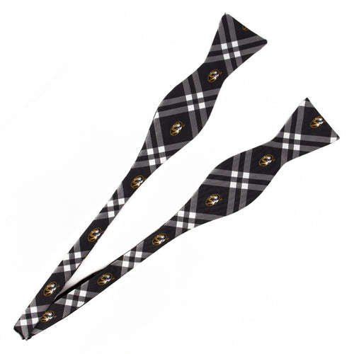 Missouri Tigers Self Tie Bow Tie Rhodes