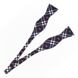 Boston Red Sox Self Tie Bow Tie Rhodes