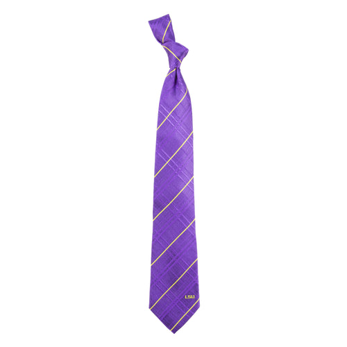 LSU Tigers Tie Oxford Woven