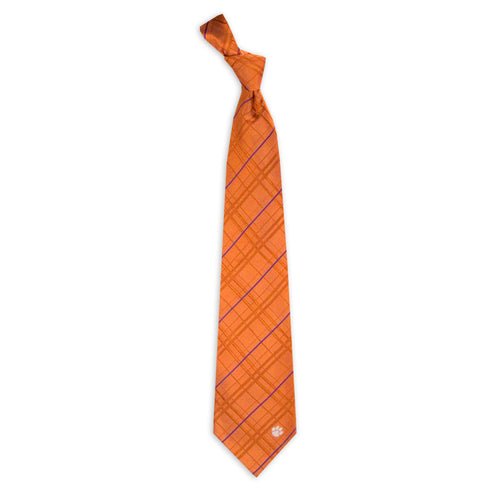 Clemson Tigers Tie Oxford Woven