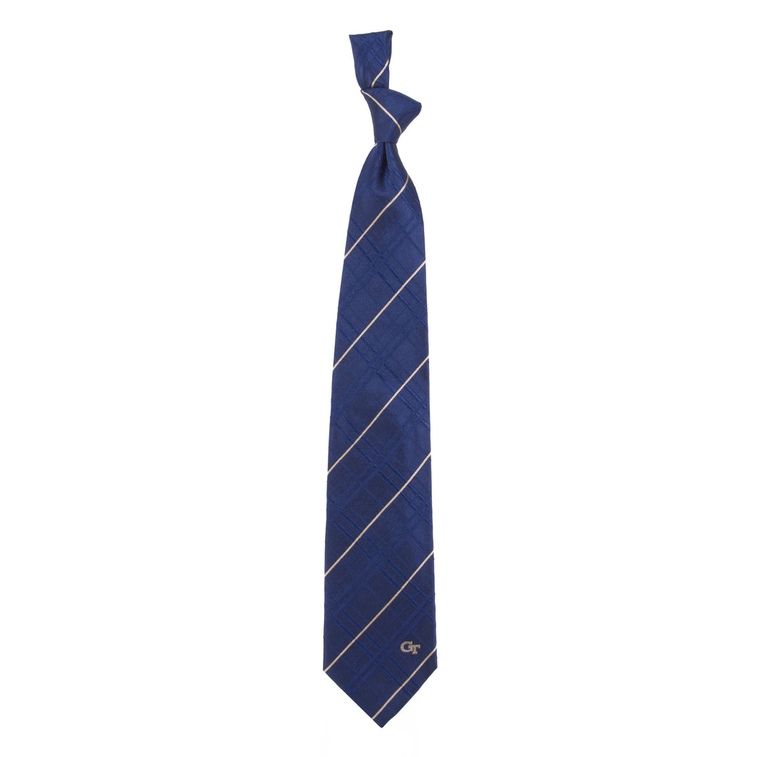Georgia Tech Yellow Jackets Tie Oxford Woven