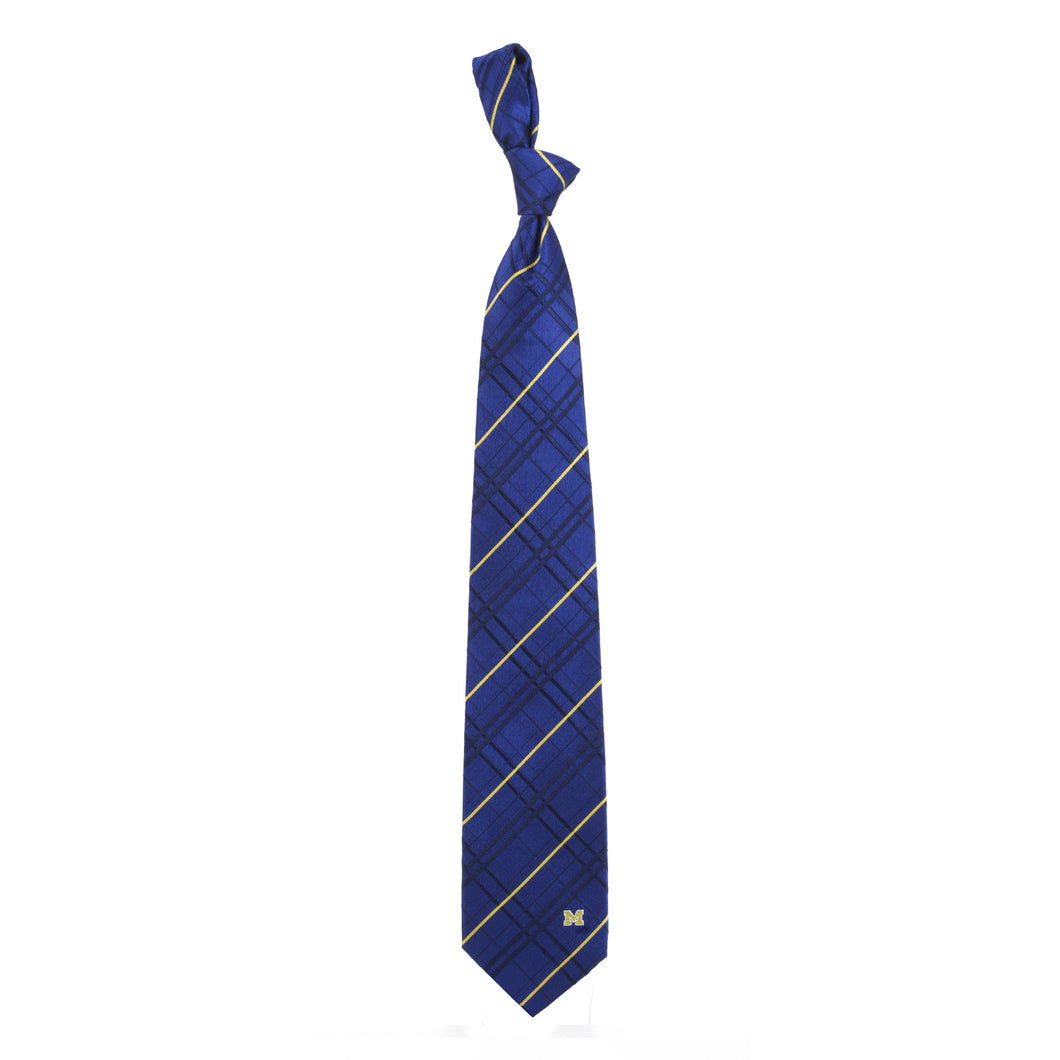 Michigan Wolverines Tie Oxford Woven