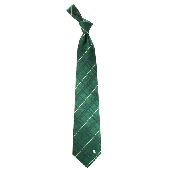 Michigan State Spartans Tie Oxford Woven