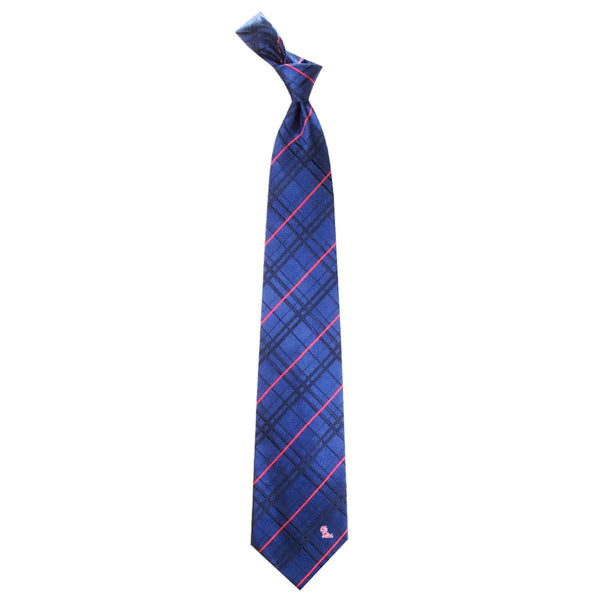 Ole Miss Rebels Tie Oxford Woven