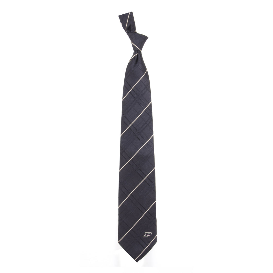 Purdue Boilmakers Tie Oxford Woven