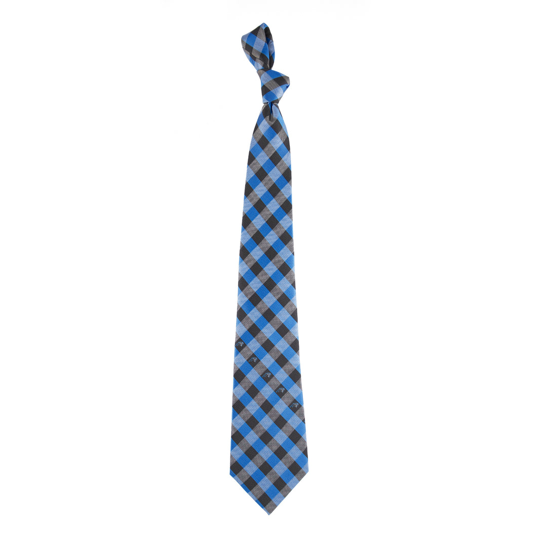 Carolina Panthers Tie Check
