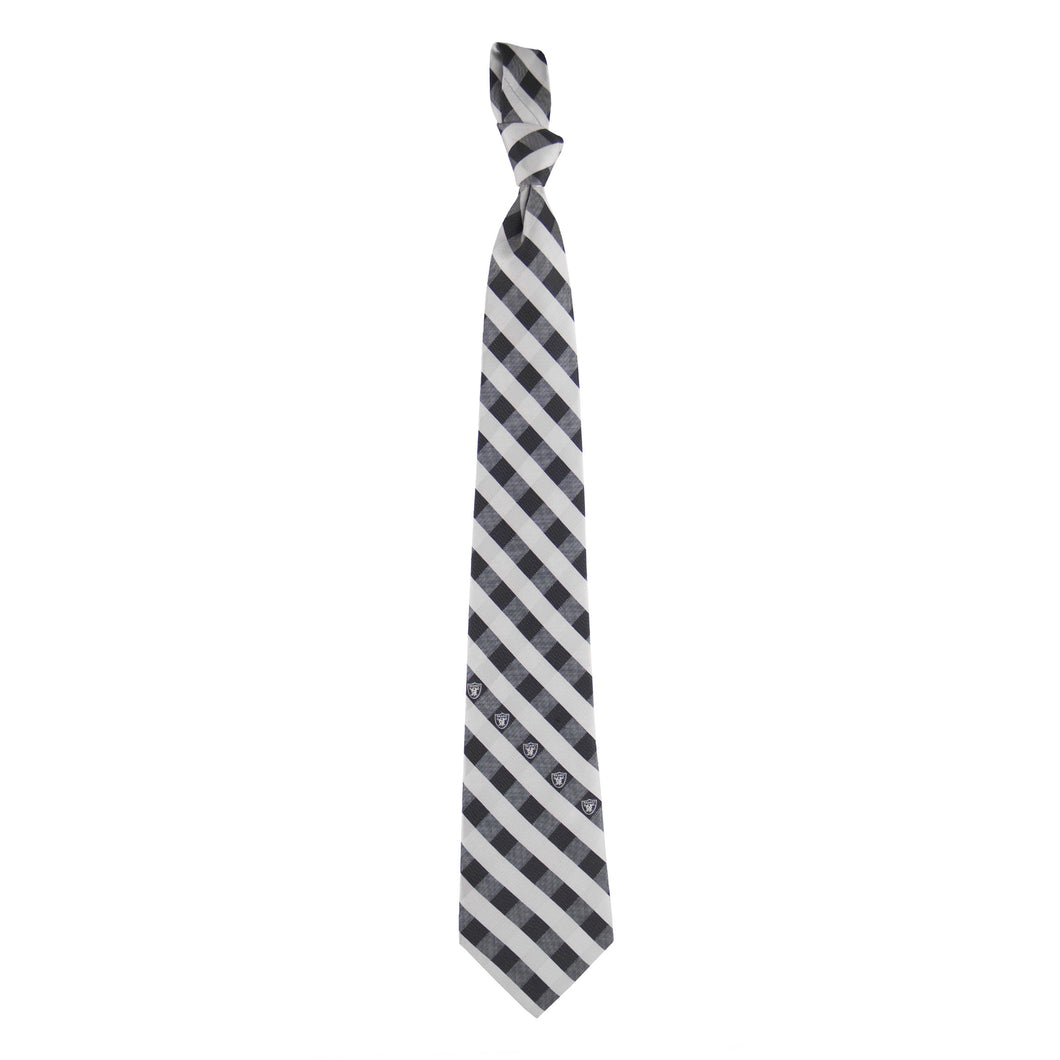 Las Vegas Raiders Tie Check