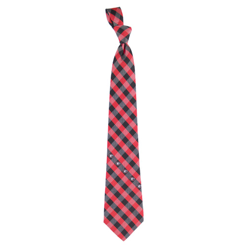 Georgia Bulldogs Tie Check