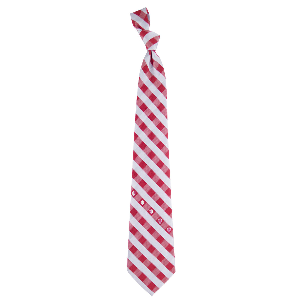 Indiana Hoosiers Tie Check