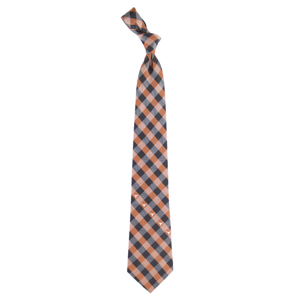 Texas Longhorns Tie Check