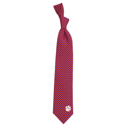 Clemson Tigers Tie Diamante