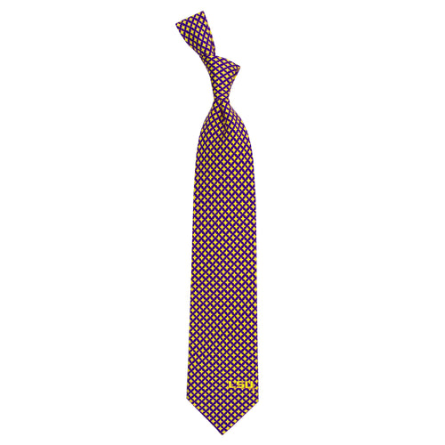 LSU Tigers Tie Diamante