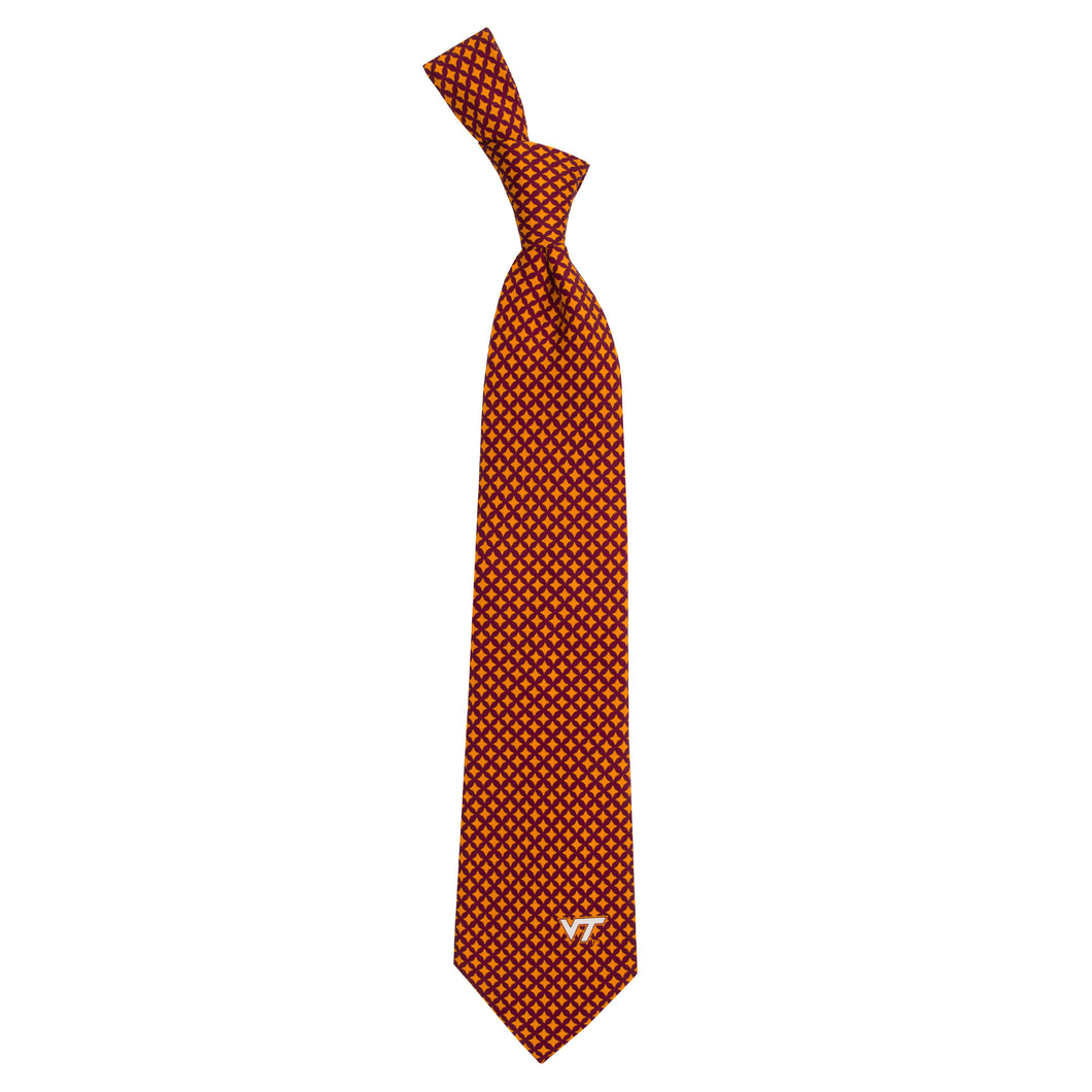 Virginia Tech Hokies Tie Diamante
