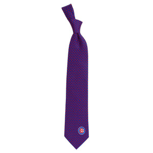 Chicago Cubs Tie Diamante