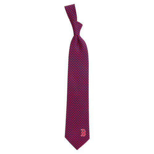 Boston Red Sox Tie Diamante