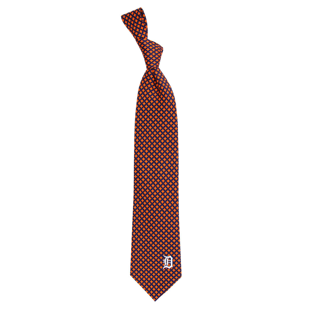 Detroit Tigers Tie Diamante