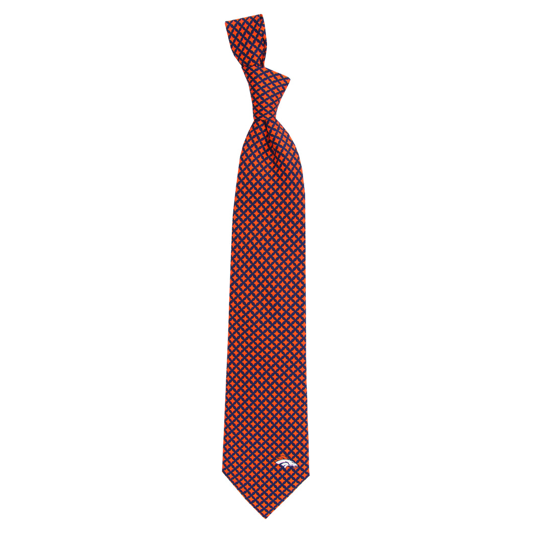 Denver Broncos Tie Diamante