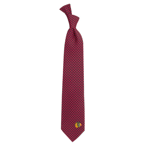 Blackhawks Tie Diamante
