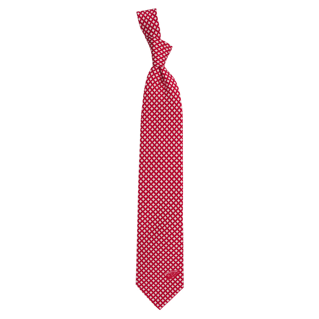 Red Wings Tie Diamante