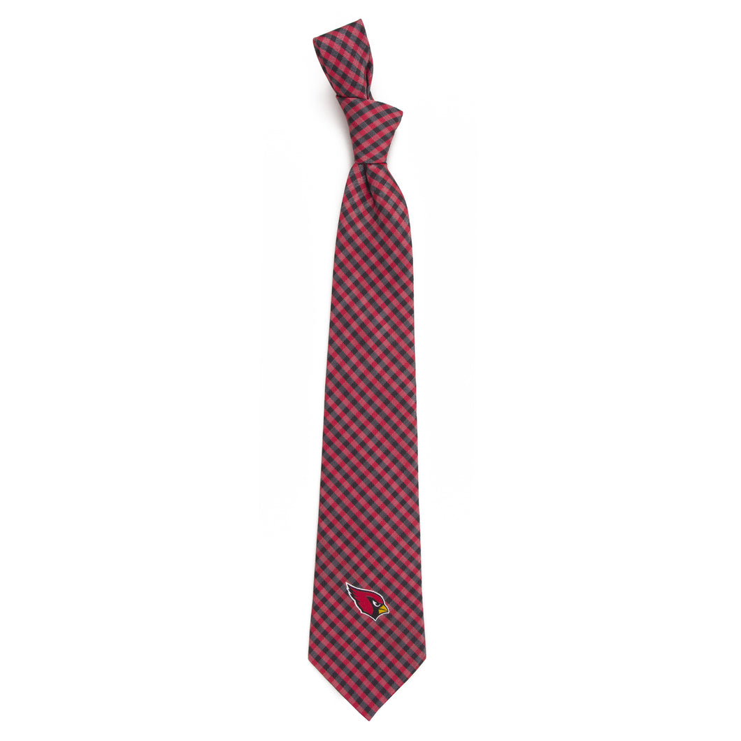 Arizona Cardinals Tie Gingham
