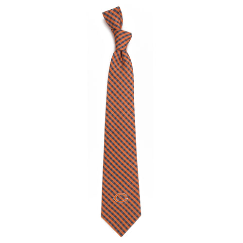 Chicago Bears Tie Gingham
