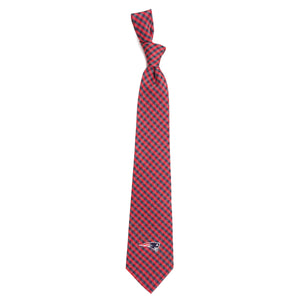 New England Patriots Tie Gingham