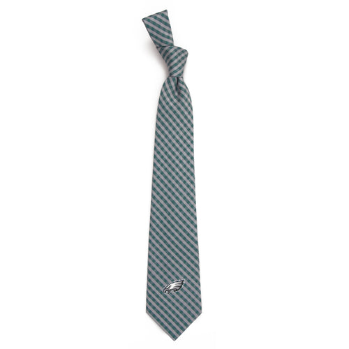 Philadelphia Eagles Tie Gingham