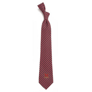 Maryland Terrapins Tie Gingham