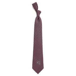 South Carolina Gamecocks Tie Gingham