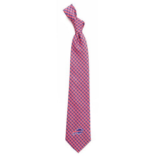 Buffalo Bills Tie Gingham