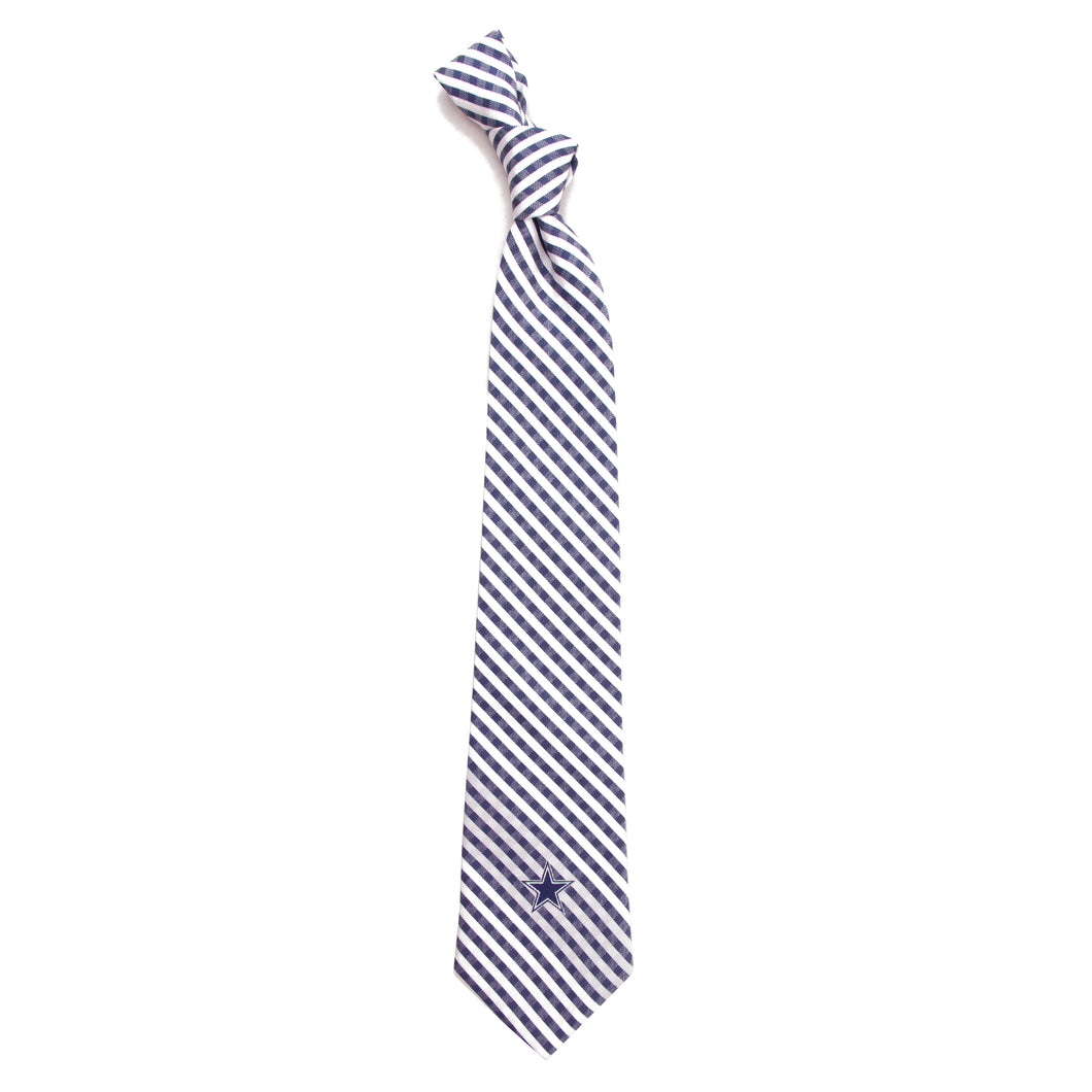 Dallas Cowboys Tie Gingham