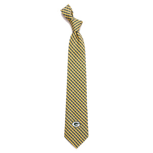 Green Bay Packers Tie Gingham