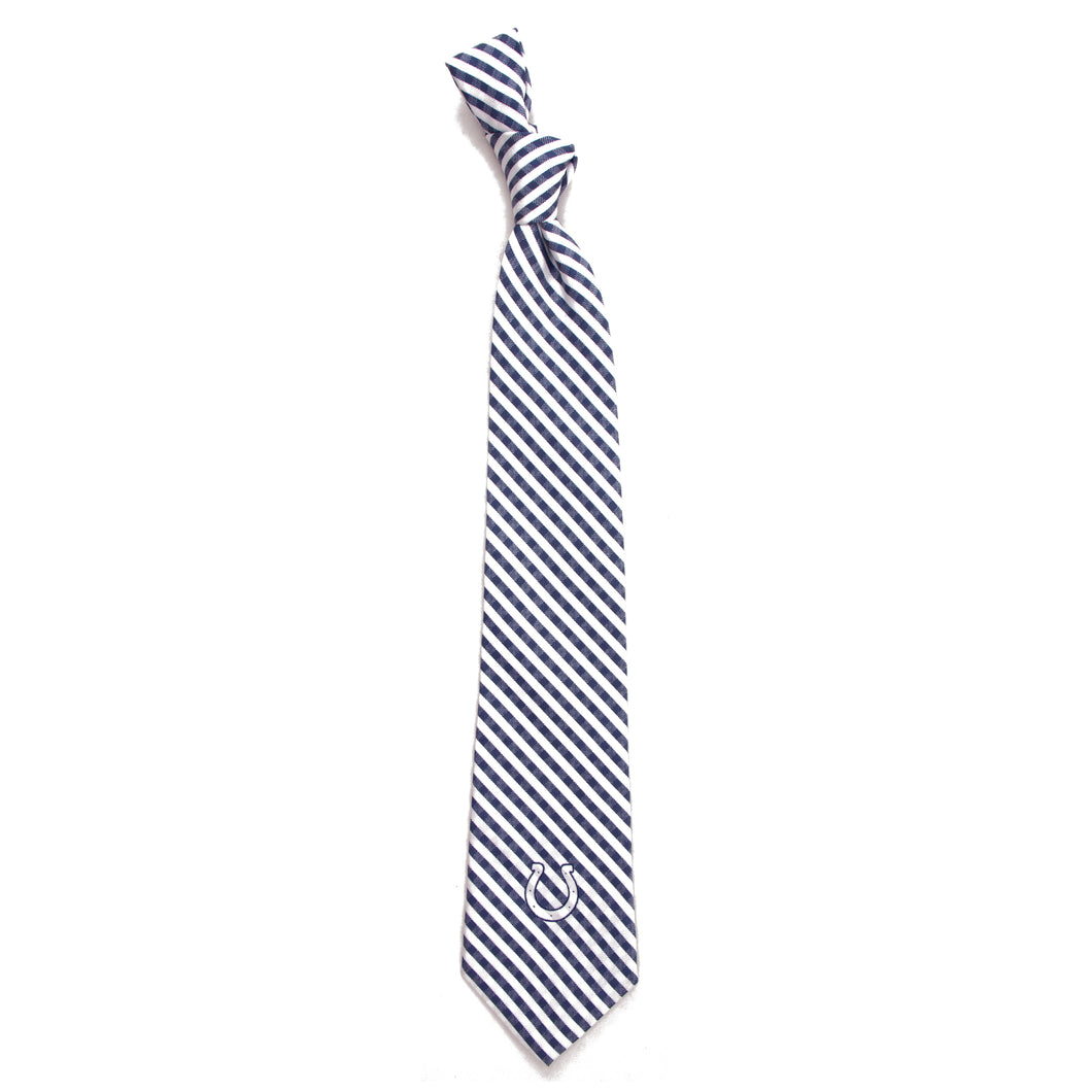 Indianapolis Colts Tie Gingham