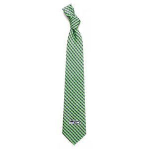 Seattle Seahawks Tie Gingham