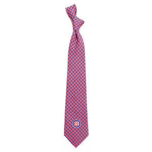 Chicago Cubs Tie Gingham