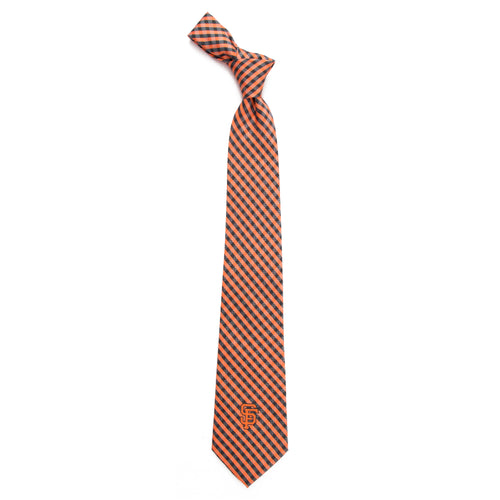 San Francisco Giants Tie Gingham