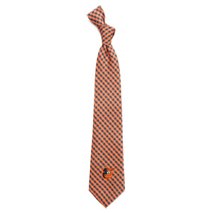 Baltimore Orioles Tie Gingham